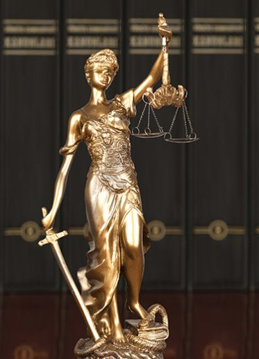 litigation services scales of justice